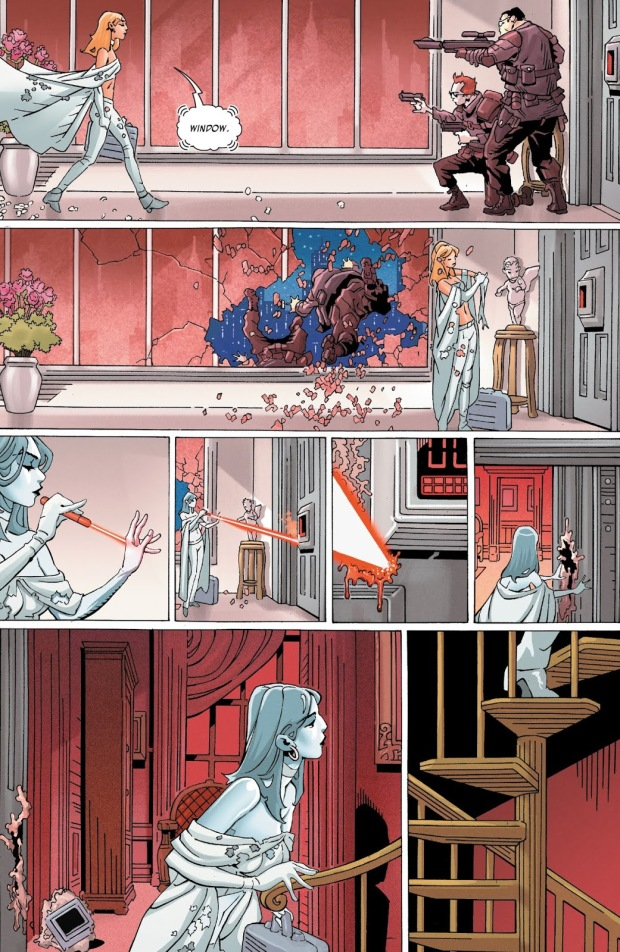 Emma Frost Infiltrates Sebastian Shaw's Base
