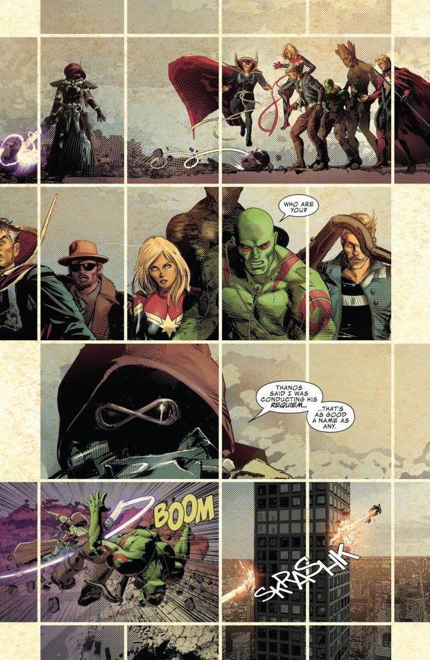 Gamora Kills Star-Lord