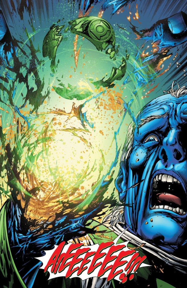 Ganthet Loses His Hand