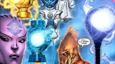 Ganthet, Sayd, Indigo-1 And Larfleeze