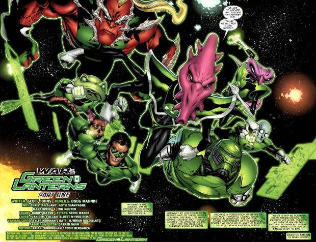 Green Lantern Corps (Green Lantern Vol. 4 #64)