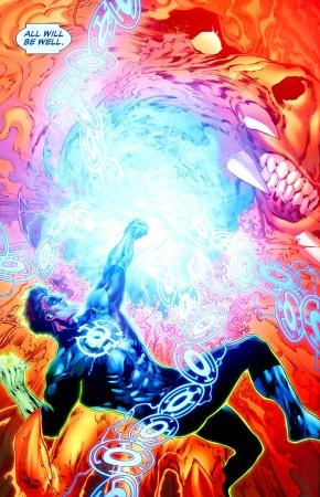 Green Lantern Corps VS Larfleeze (Green Lantern Vol. 4 #42)