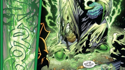 Green Lantern Ganthet VS The Green Lantern Corps