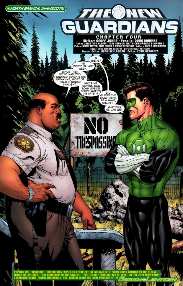 Green Lantern Hal Jordan (Green Lantern Vol. 4 #56)