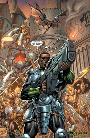 Green Lantern John Stewart (Green Lantern Corps Vol. 2 #56)