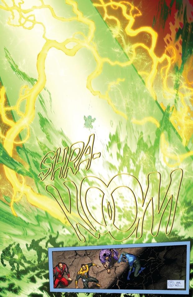 Green Lantern Mogo Mind Controlled By Krona