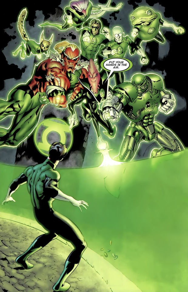 Hal Jordan And The Green Lantern Corps (Green Lantern Vol. 4 #64)