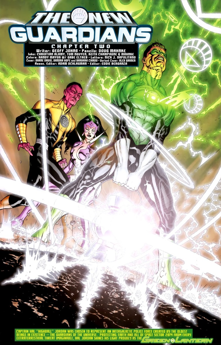 Hal Jordan Lifts The White Lantern Battery