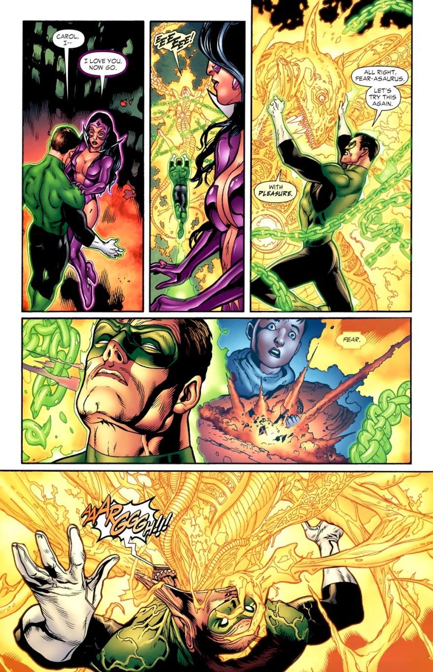 Hal Jordan Merges With Parallax (Blackest Night)
