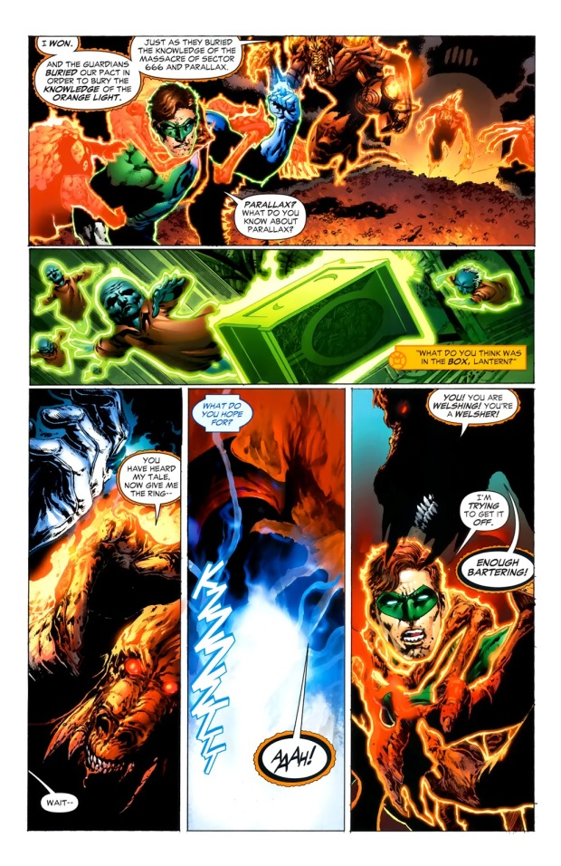 How Larfleeze Became An Orange Lantern