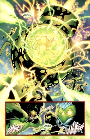 Krona Mind Controls The Green Lantern Corps