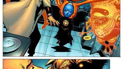 Lex Luthor Outsmarts Larfleeze