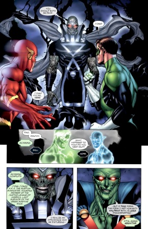 Martian Manhunter Becomes A Black Lantern