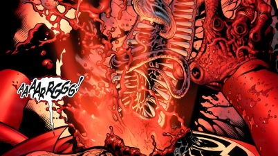 Red Lantern Atrocitus Can Live Without A Heart