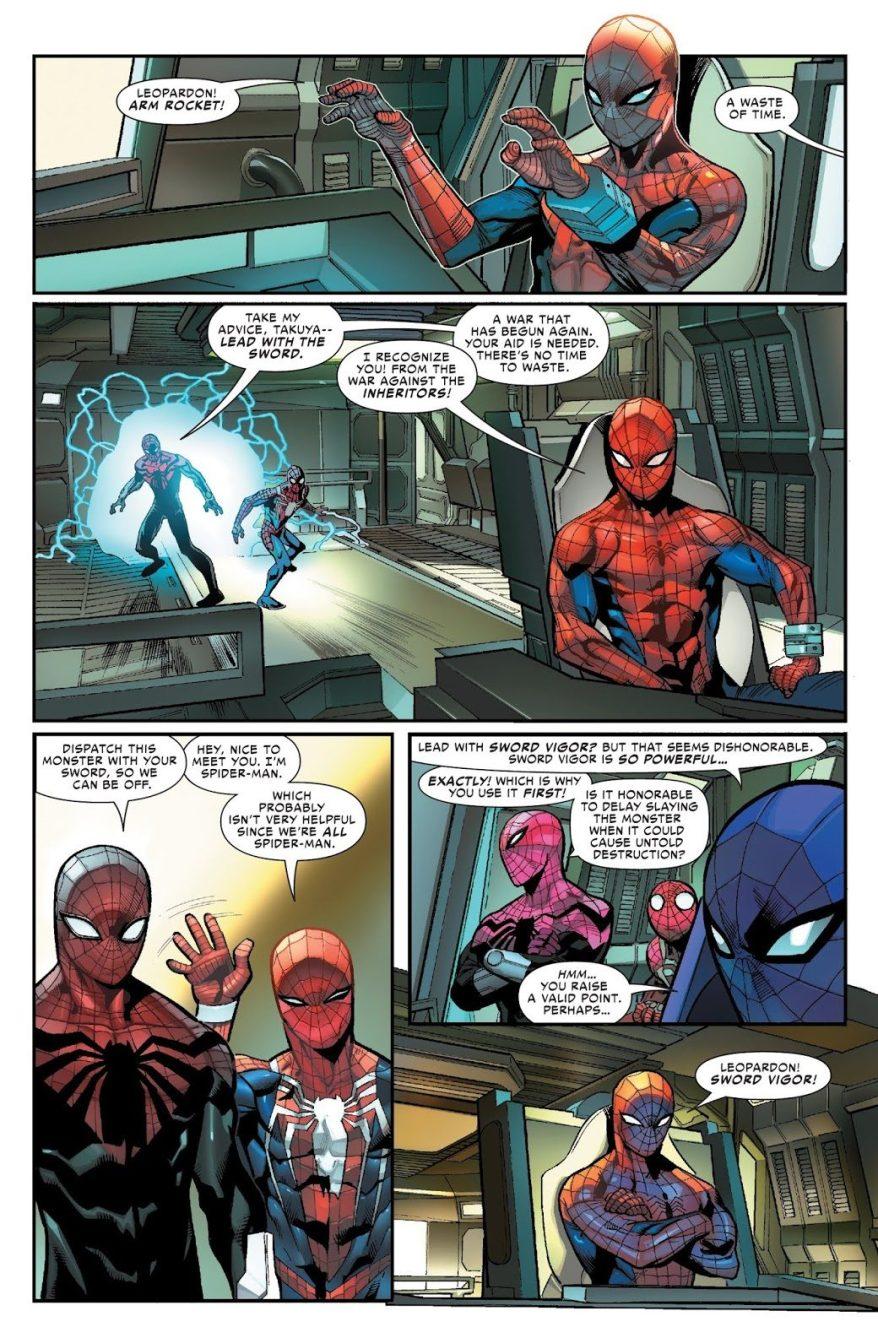 Spider-Man Takuya Yamashiro (Spider-Geddon)