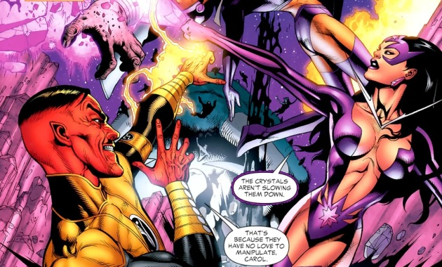 Star Sapphire Carol Ferris And Sinestro (Green Lantern Vol. 4 #46)