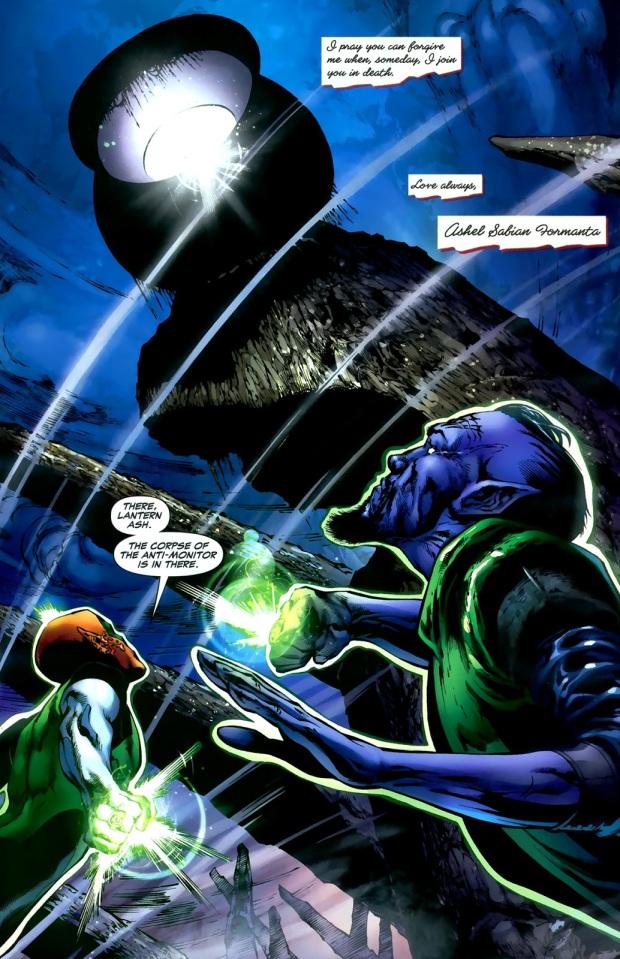 The Black Lantern Battery (Green Lantern Vol. 4 #42)