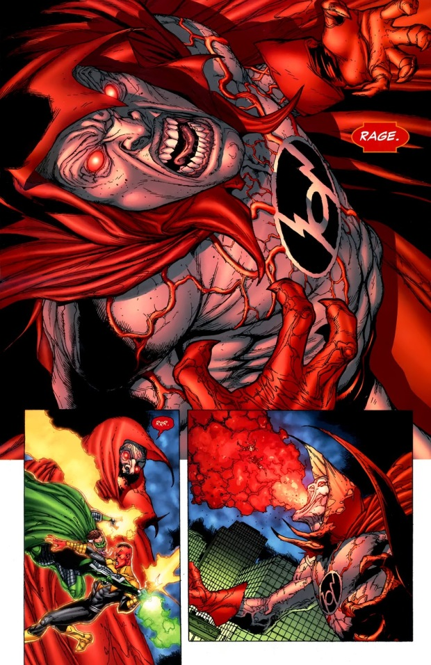 The Spectre As A Red Lantern