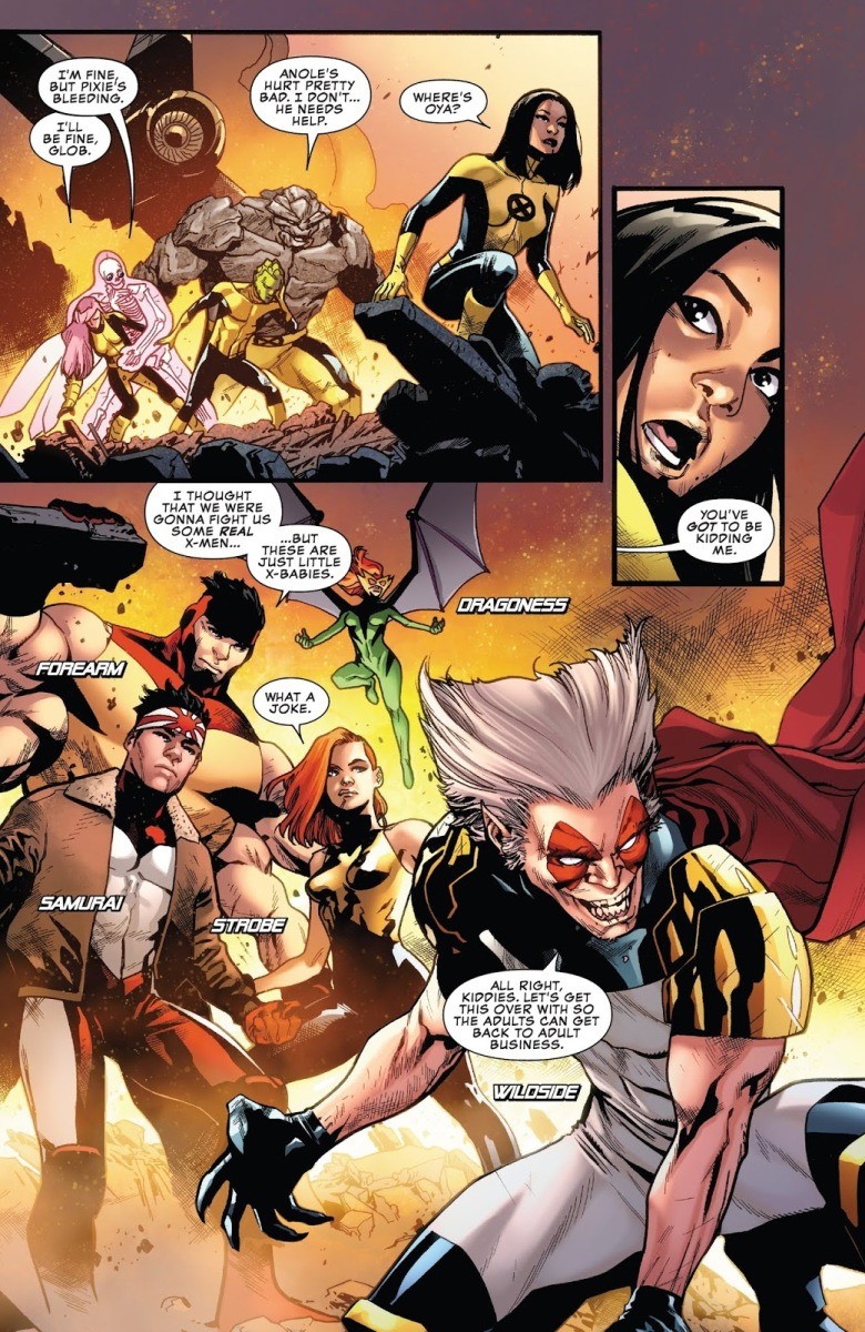 X-Men VS Mutant Liberation Front (Uncanny X-Men Vol 5 #1)