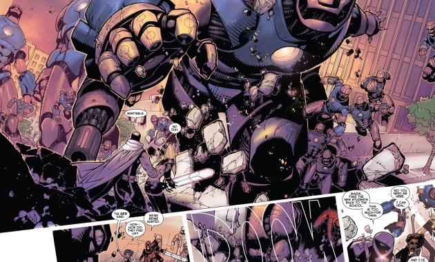 X-Men VS Sentinels (Uncanny X-Men Vol. 3 #1)