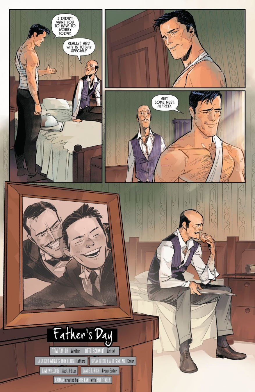 Alfred Pennyworth Father's Day
