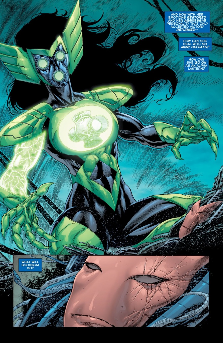Alpha Lantern Boodika (Green Lantern Corps Vol. 2 #63)