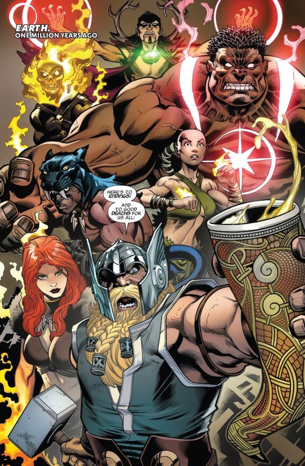 Avengers of 1,000,000 BC (Avengers Vol. 8 #1)