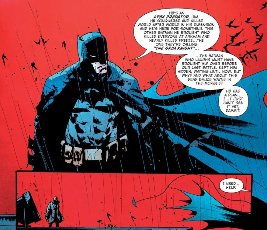Batman Describes The Batman Who Laughs