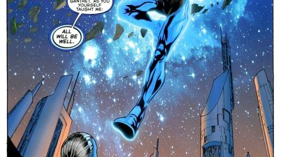 Blue Lantern Saint Walker (War of the Green Lanterns Aftermath #1)