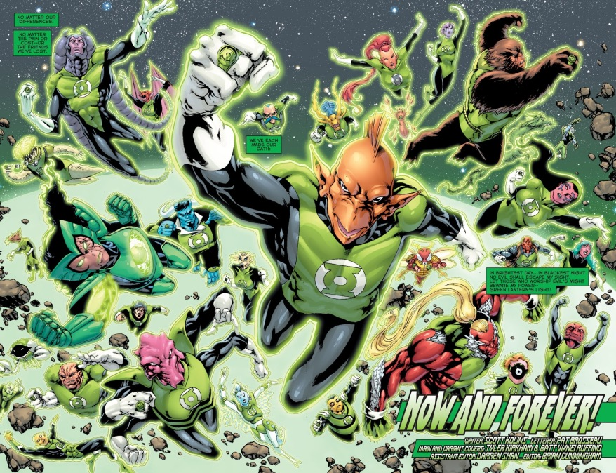 Green Lantern Corps Vol. 2 #63