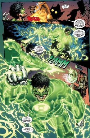 Green Lantern Kyle Rayner VS The Weaponer