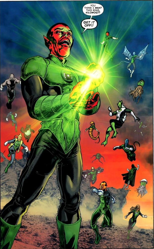 Green Lantern Sinestro (War of the Green Lanterns Aftermath #1)