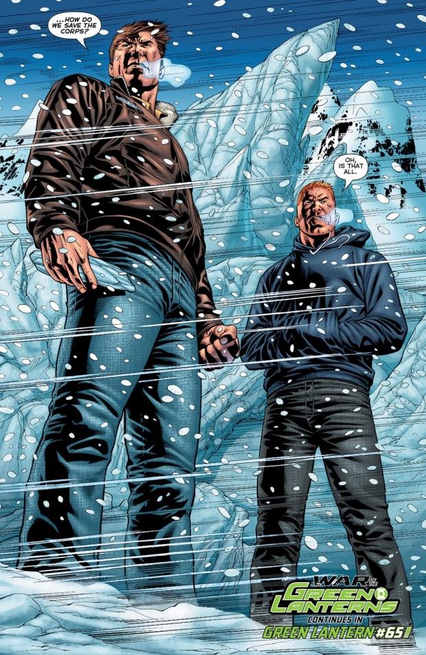 Hal Jordan And Guy Gardner(Emerald Warriors #8)