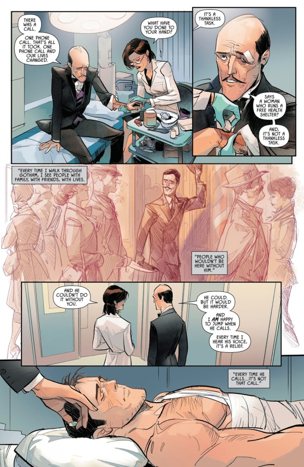 How Alfred Pennyworth Takes Care Of Batman (Batman Vol. 3 Annual #3)