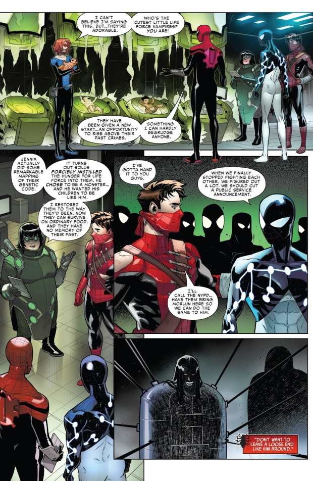 How The Spider-Army Defeated The Inheritors (Spider-Geddon)