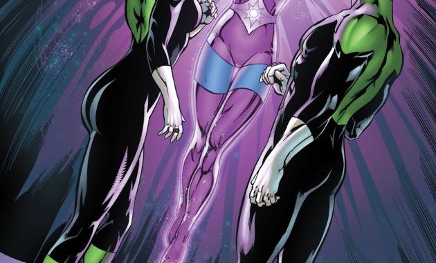 Kyle Rayner And Soranik Natu (Green Lantern Corps Vol. 2 #62)
