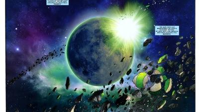Oa (War of the Green Lanterns Aftermath #1)