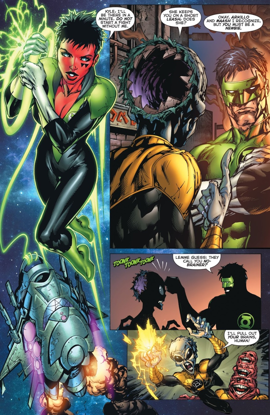 Why You Don't Mess With Kyle Rayner