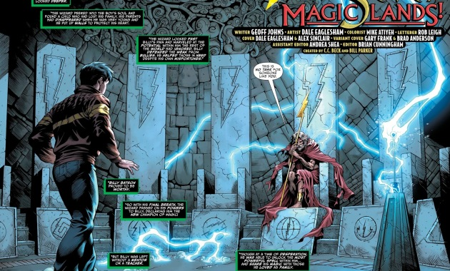 Billy Batson And The Wizard (Shazam Vol. 3 #1)