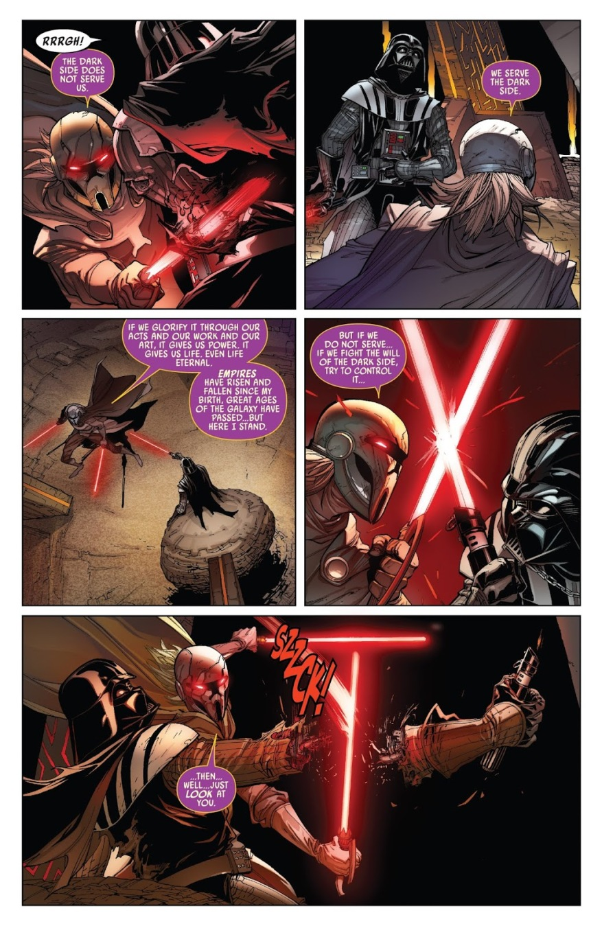 Darth Vader VS Lord Momin