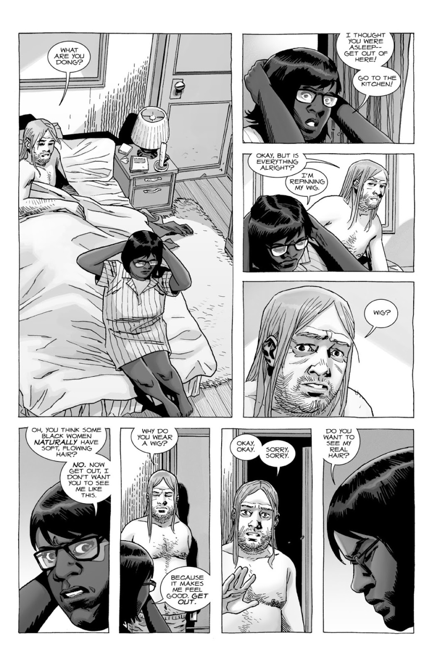 Eugene Porter Sleeps With Stephanie (The Walking Dead)
