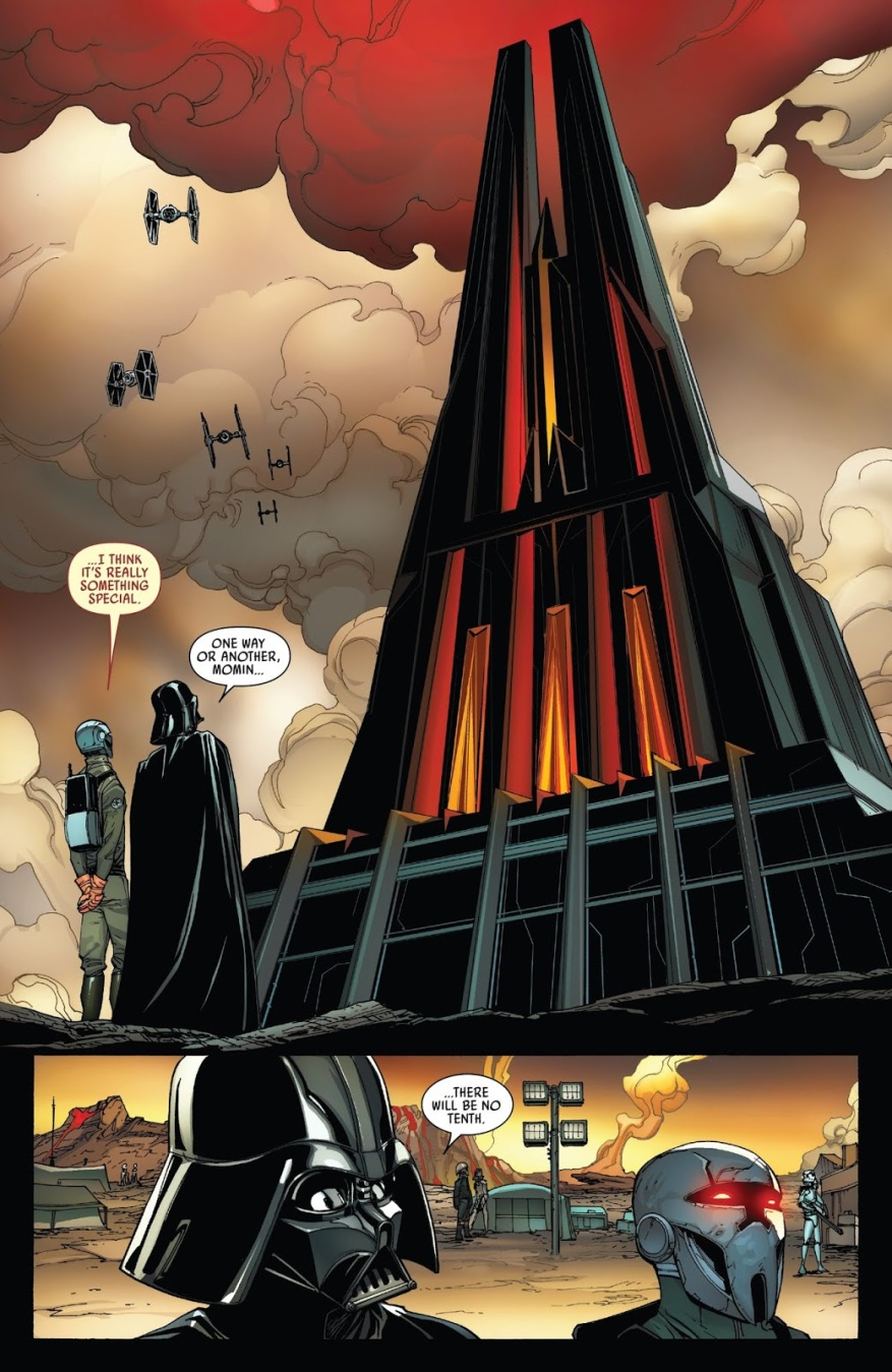 Lord Momin Designs A Building For Darth Vader
