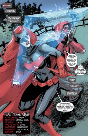 Red Hood And Batwoman (Red Hood and the Outlaws Vol. 2 #29)