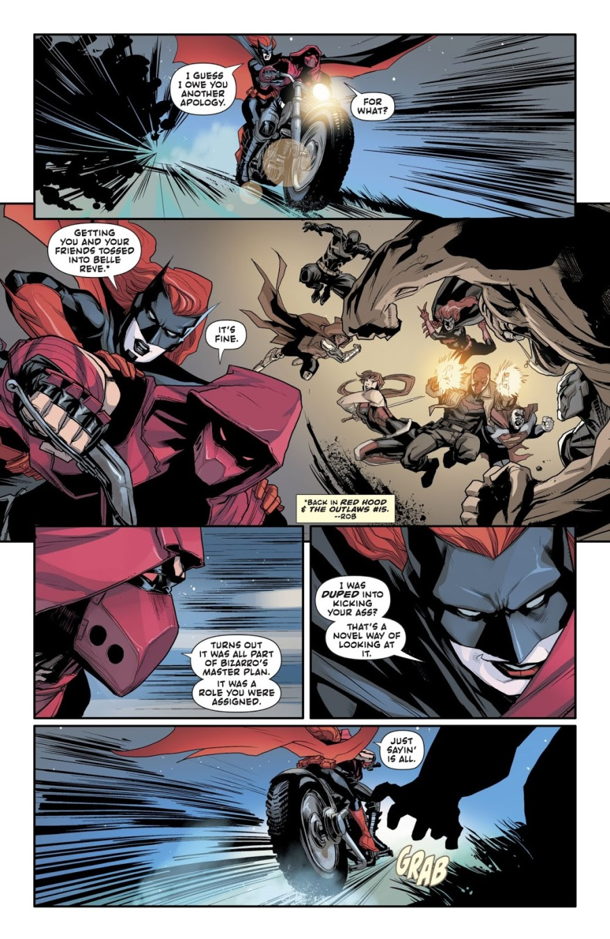 Red Hood And Batwoman VS Mondays