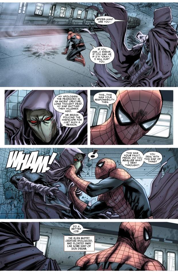 Superior Spider-Man Defeats A Fear-Worm