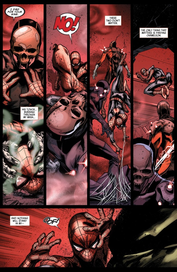 Superior Spider-Man VS Skull And Saint