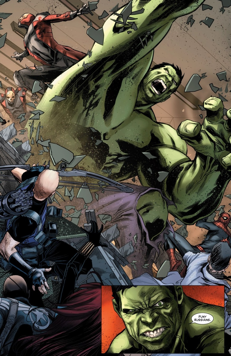 The Hulk (Avenging Spider-Man #21)