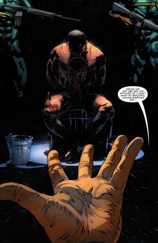 baron zemo tortures the punisher