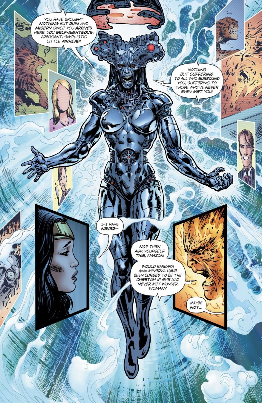 Doctor Cyber (Wonder Woman Vol. 5 #19)