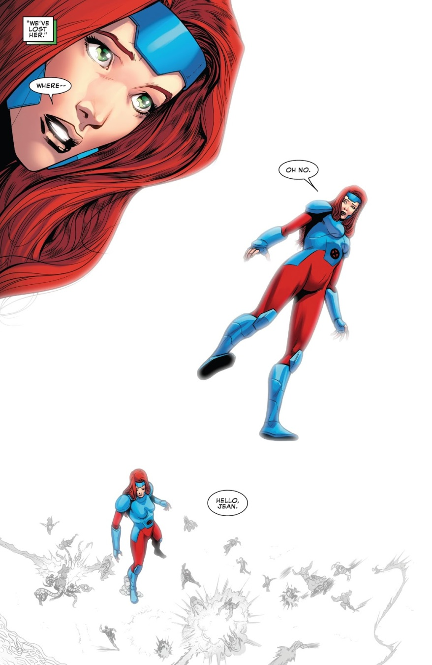 Jean Grey VS X-Man (X-Men Disassembled)